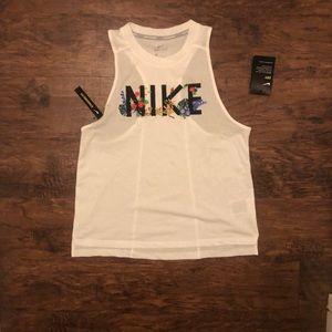BRAND NEW Nike Dri-Fit Racerback Tanktop (M)